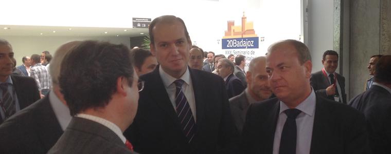 Visita oficial del Presidente de Extremadura