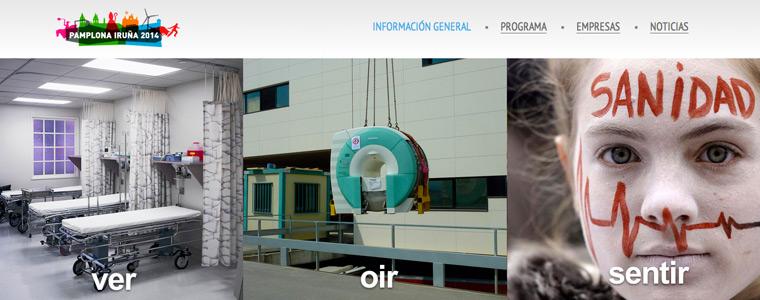 La web oficial del XXXII Seminario de Ingeniería Hospitalaria