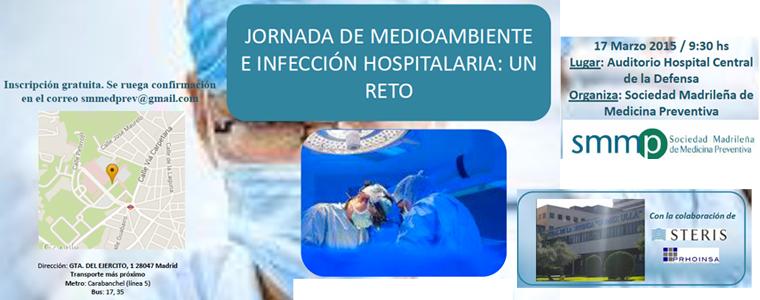 Jornada de Medio Ambiente e Infección Hospitalaria: Todo un reto
