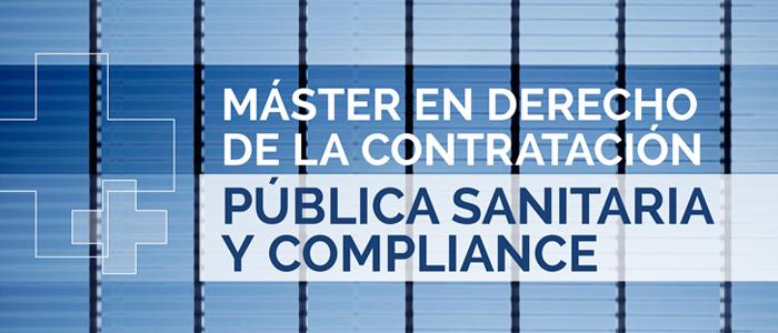 Máster en el ámbito de la Contratación Pública Sanitaria y Compliance
