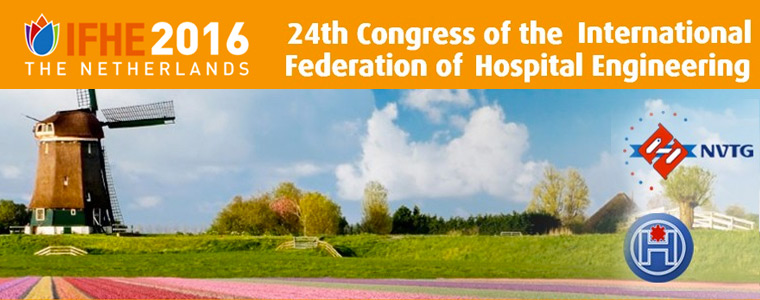 Holanda celebra el 24 Congreso Internacional de Ingeniería Hospitalaria