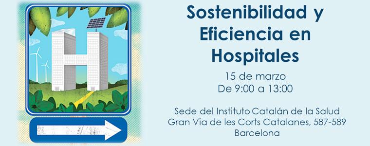 Invitación a la Jornada de Sostenibilidad y Eficiencia en Hospitales