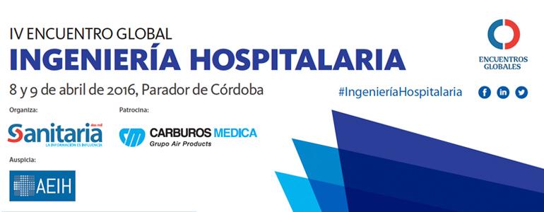 IV Encuentro de Ingeniería Hospitalaria en el Parador de Córdoba