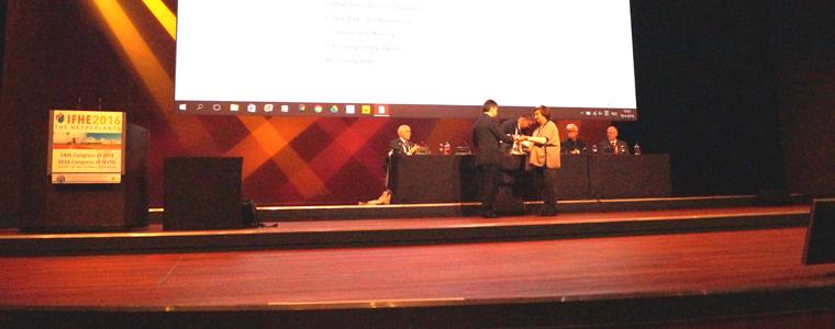 La AEIH clasificada con honores en el concurso internacional de artículos técnicos IFHE Library Award convocado por la IFHE