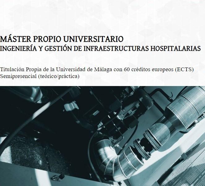 IX Máster Universitario de Ingeniería y Gestión de Infraestructuras Hospitalarias