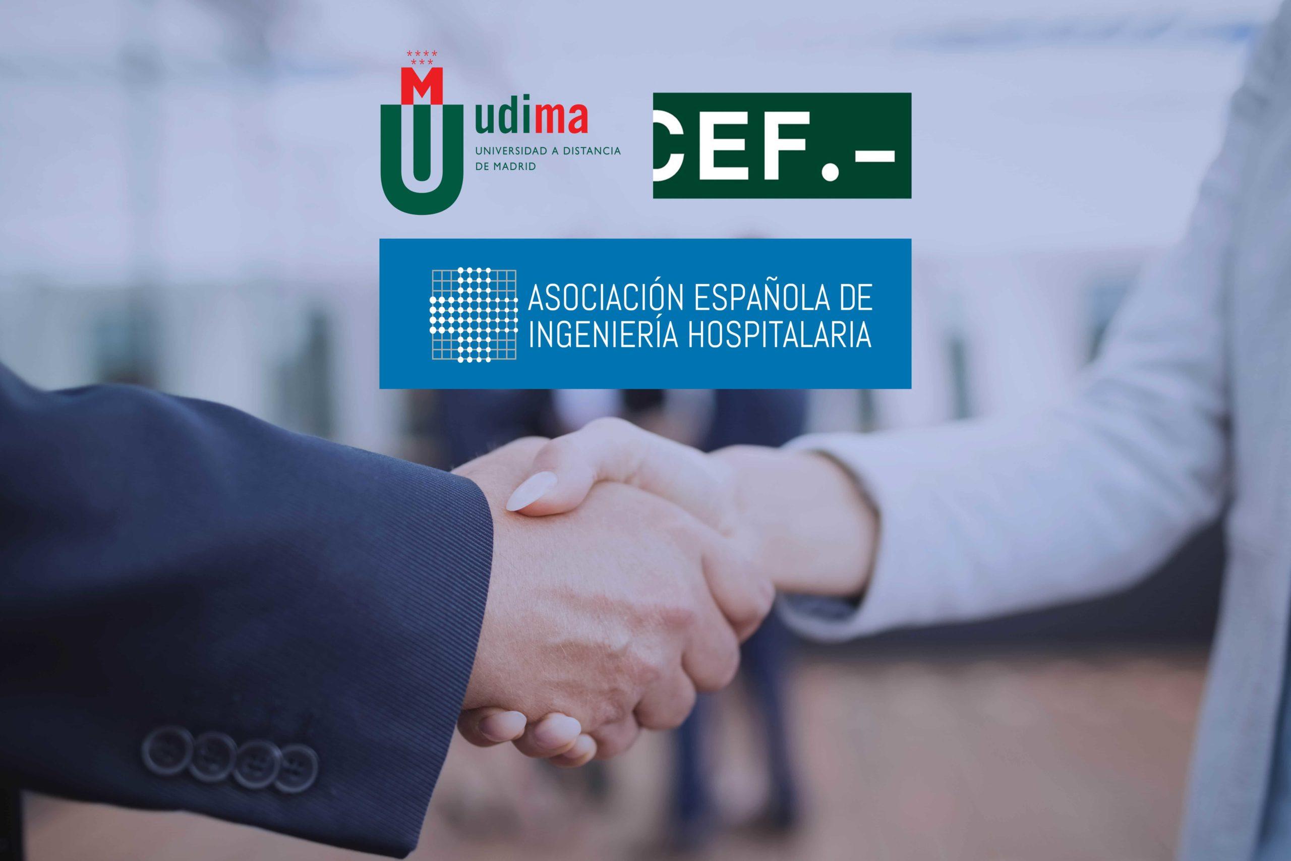 Convenio de colaboración entre CEF – UDIMA y la AEIH