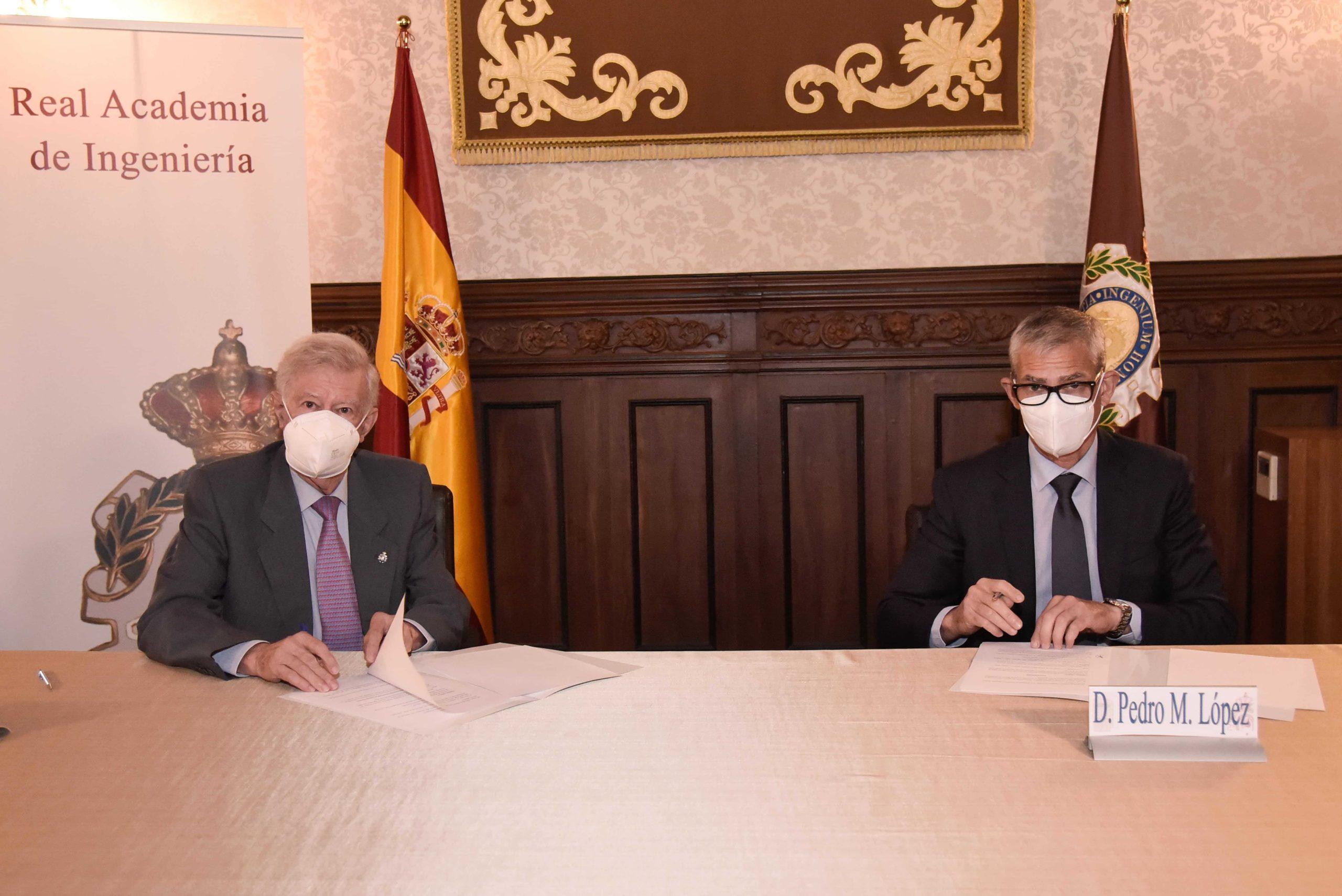 Convenio marco entre la Asociación Española de Ingeniería Hospitalaria y la Real Academia de Ingeniería